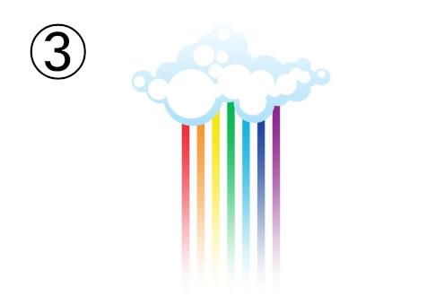 虹 猫かぶり 心理テスト