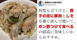 【驚異の52万いいね】「余った餃子の皮」を世界一美味しく食べる方法かも…?