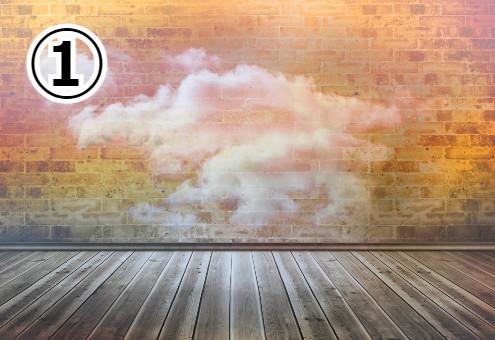 雲 ウォールアート 性格 心理テスト