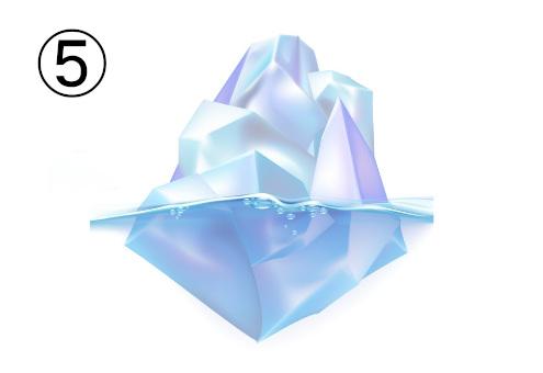 氷山 恋愛 強み 心理テスト