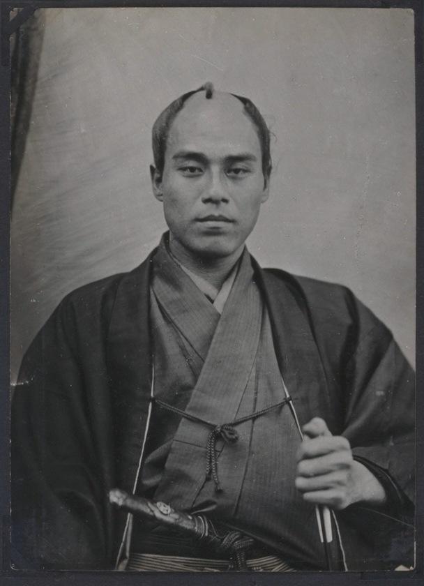 福沢諭吉・武士のころの写真