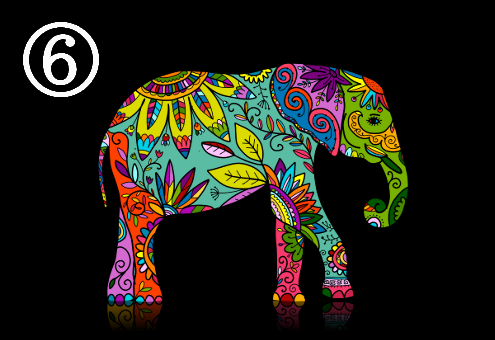 象 カラフル ツンデレ 心理テスト