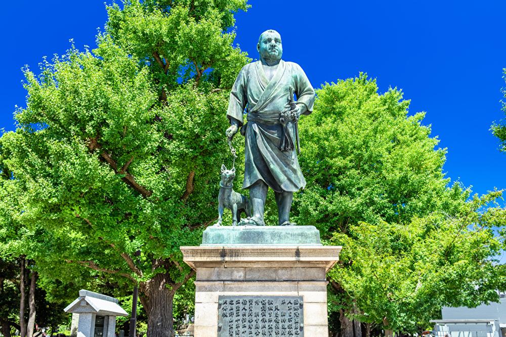 西郷隆盛の銅像(上野)