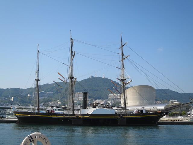 長崎の帆船