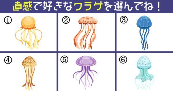 【心理テスト】好みなクラゲでわかる!あなたの「毒舌レベル」