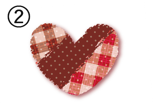 ハート バレンタイン 愛したい 愛されたい 心理テスト