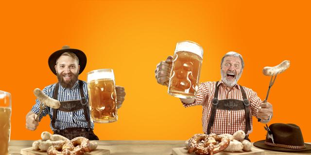 ドイツのソーセージとビール