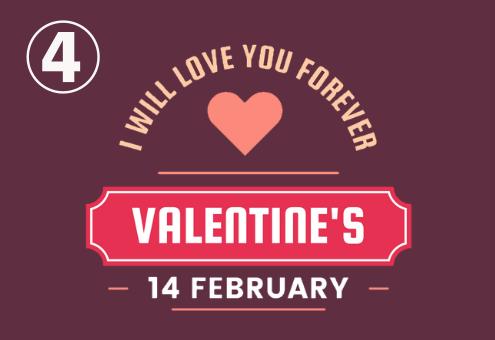 バレンタイン 来年 幸福度 心理テスト