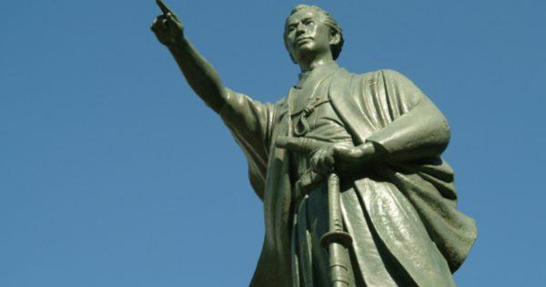 勝海舟 銅像