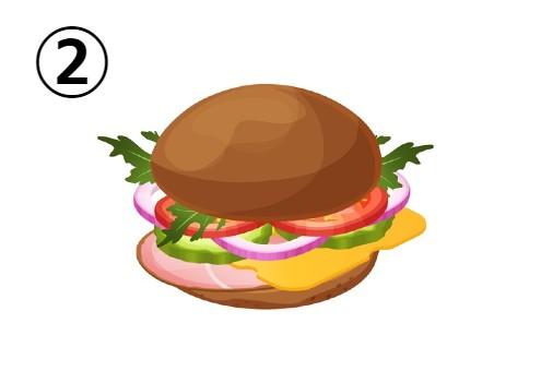 ハンバーガー 100均 大好き 心理テスト