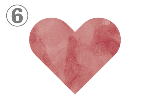 ハート バレンタイン 恋愛性格 心理テスト