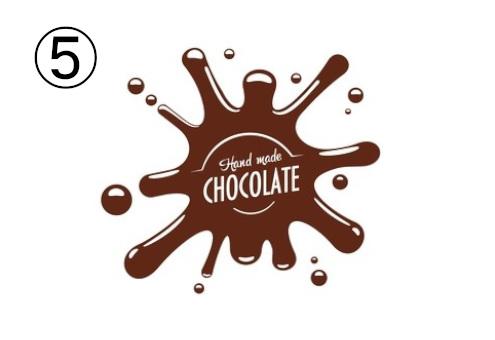 チョコレート ロゴ バレンタイン 恋愛 クセ 心理テスト