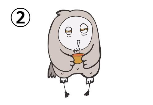 フクロウ 性格 レビュー 心理テスト