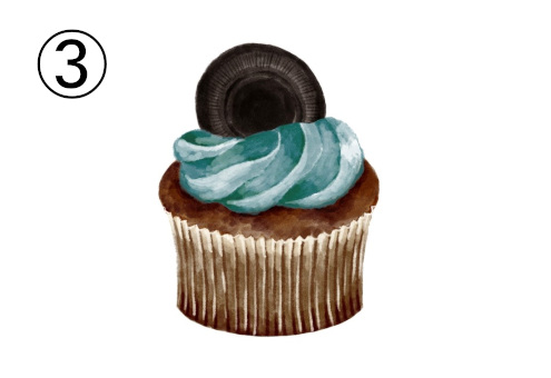 カップケーキ 性格 系 心理テスト