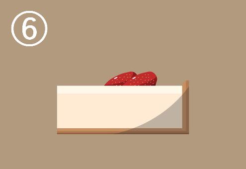 ケーキ ショートカット 寄り道 心理テスト