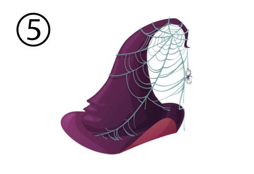 魔女 帽子 隠し事 心理テスト