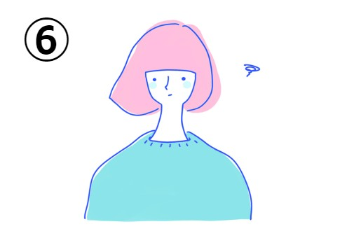 女性 イラスト 色 性格 構成要素 心理テスト