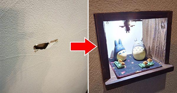 夫がDIYの天才だった…「壁の修理」を依頼した結果に衝撃