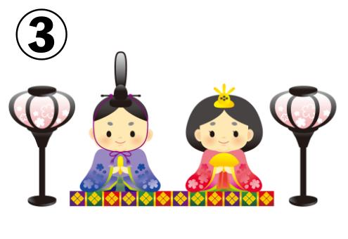 ひな祭り 雛人形 性格 心理テスト