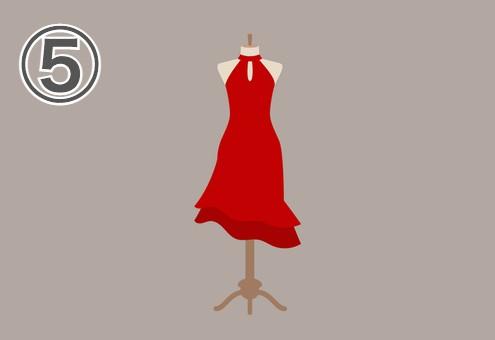 ドレス 自分磨き 意欲 心理テスト