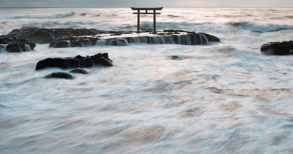 【茨城の本気】大洗町で撮影された「神々しすぎる1枚」にネット民騒然