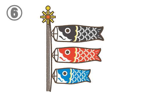 鯉のぼり こどもの日 適職 心理テスト 診断