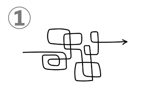 手書き 線 性格 レビュー 心理テスト
