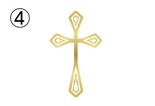 クロス 十字架 責任感 心理テスト