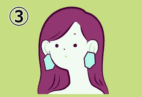 女性 イラスト 性格 要素 構成 心理テスト