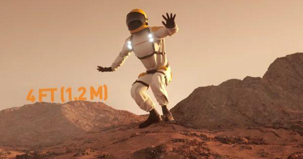 「地球以外の惑星でジャンプしたらどうなる?」比較動画が740万再生超え!