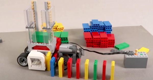 【気持ち良すぎて200万再生】動画「レゴカーがドミノを並べるだけ」に中毒者が続出