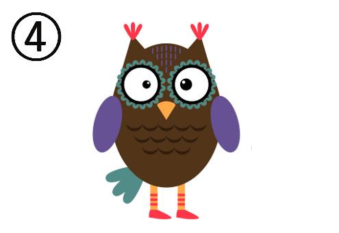 フクロウ 話題 話 心理テスト