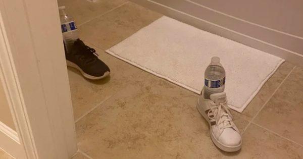床一面に水が…!9歳少女発案の「パパを仕事から解放するジョーク」が海外で話題