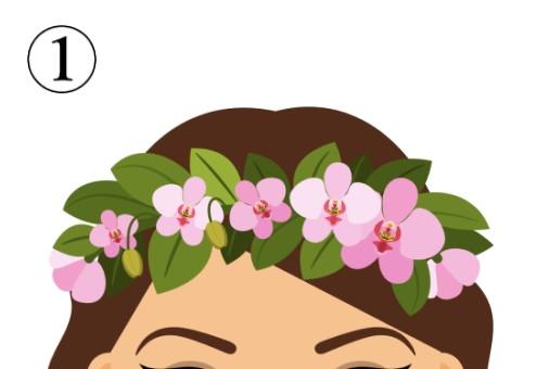 ツツジのような、薄ピンクの花の花冠