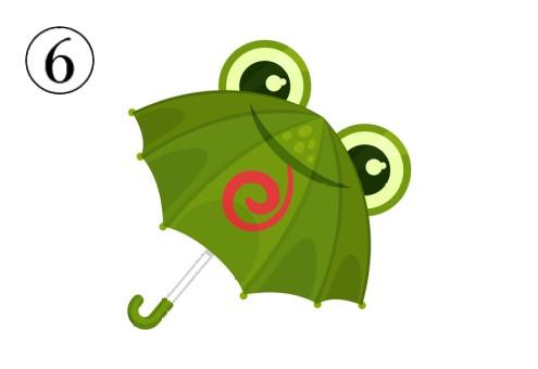 カメレオンの傘