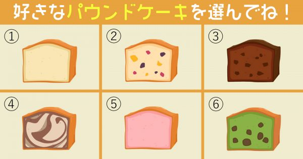 【心理テスト】あなたの性格の「対義語」を診断!食べたいケーキを選んでね