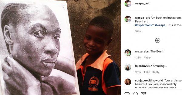 フランス大統領絶賛の「11歳の天才画家」。その表現力にインスタ民も驚嘆