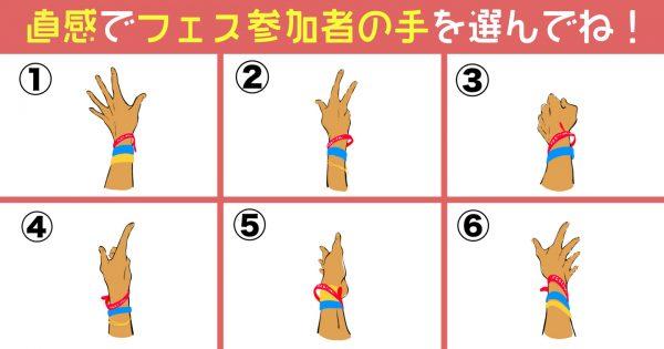 【心理テスト】気になる手を選んで!あなたの性格の「5つの特徴」を診断します!