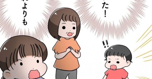 「子供の《言葉遣いの進化》って急に来るよね?」ほか日常育児マンガ 3連発!
