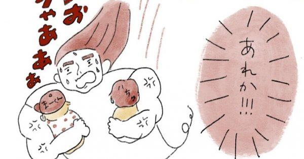 「我が子にハチが迫っている時」のママの行動速度って凄まじいよな…?