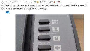 アイスランドのホテル「ランガ」には《オーロラ用モーニングコール》があるって知ってた??