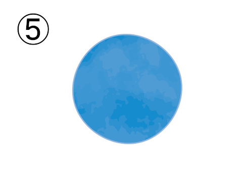 くすみブルー