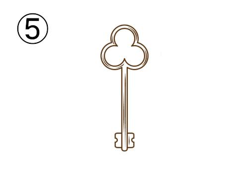 クローバーの鍵