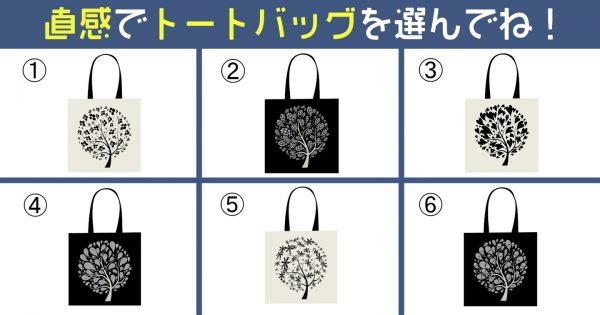 【心理テスト】選んだバッグで、あなたの性格の「熱血:クール比」を分析しますよ!