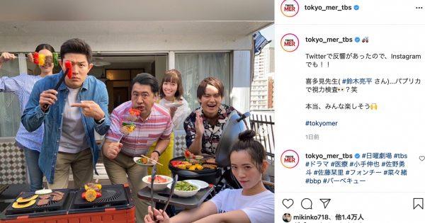 鈴木亮平の遊びっぷりに注目 ドラマ『TOKYO MER』の撮影の裏側にほっこり