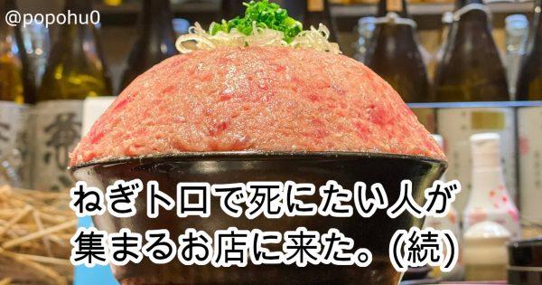 総重量1.1kg!「男のネギトロ丼」が2層構造でヤバすぎた…栃木の「海鮮問屋海ぼうず」で提供