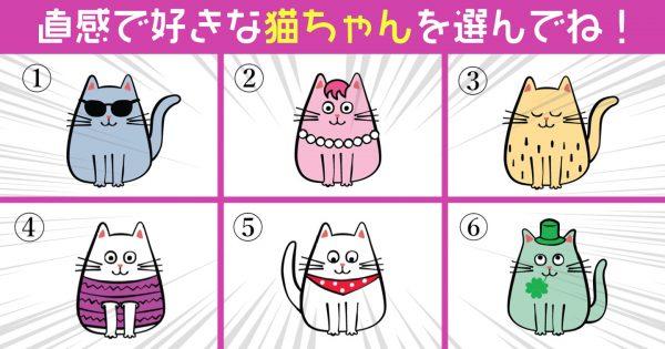 【心理テスト】猫ちゃんが教えてくれる、あなたの性格の「モテ要素」